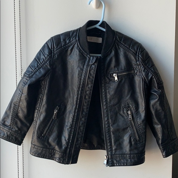 H&M Other - Toddler Faux Leather Jacket (3-4yrs)